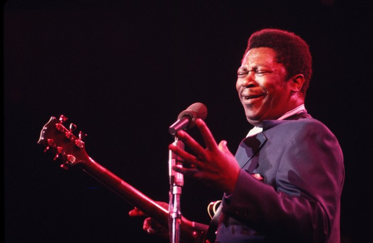B. B. King Performs in New York
