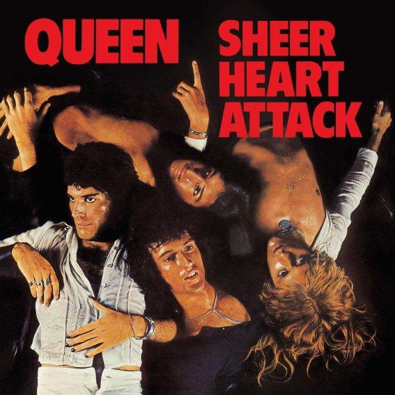 Queen - Sheer Heart Attack Cover Album