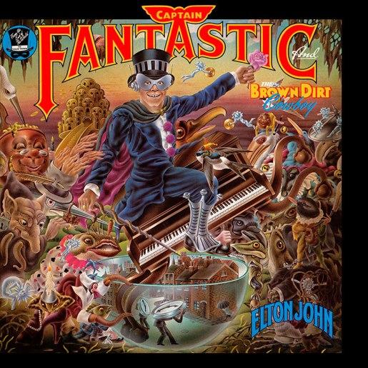 Captain Fantastic Album Cover