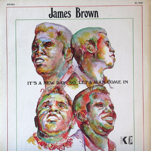 James Brown Album Cover