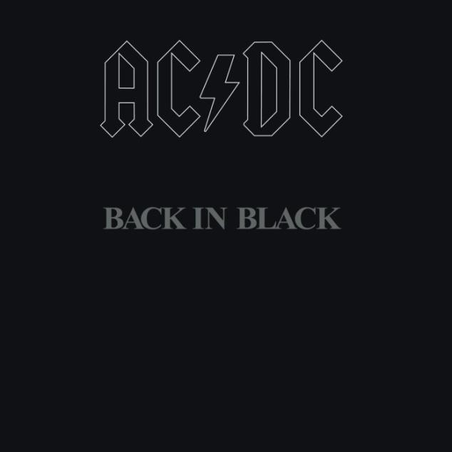 Back In Black Cover