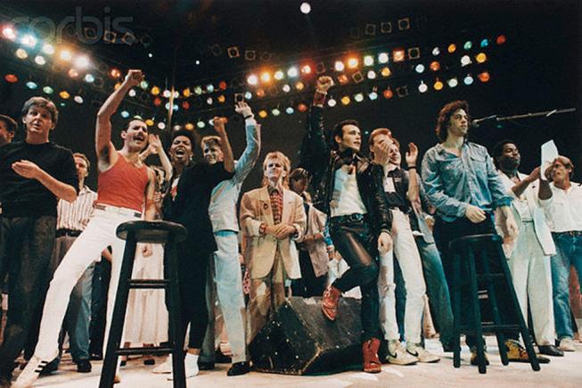 Live Aid Ending
