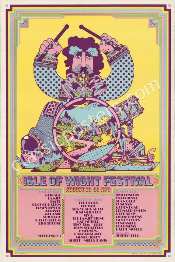 Isle Of Wight Poster